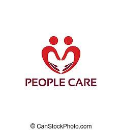 People Care logo design