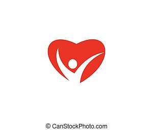 People care logo vector