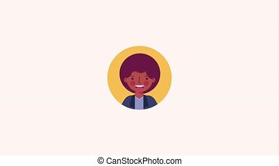people character community - afro american man portrait...