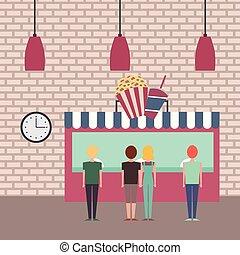 people cinema theater