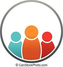 People circle logo