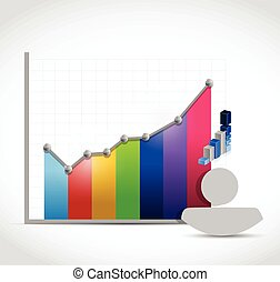 people color graph color illustration