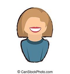 people commoner woman icon image