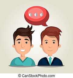 people communicating design