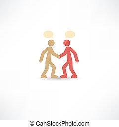 people conversation