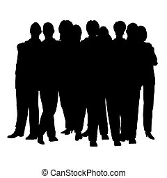 people crowd vector