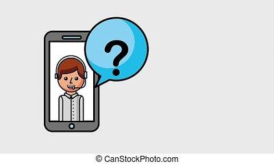 people customer service - customer service smartphone app...