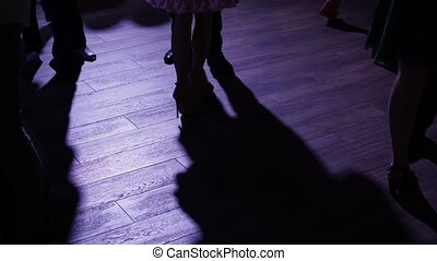 People dancing at the party