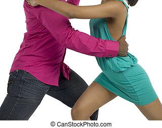 people dancing rumba - Unrecognized people dancing rumba...