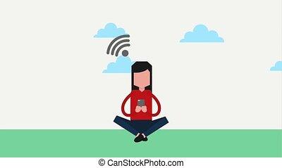 people device social media
