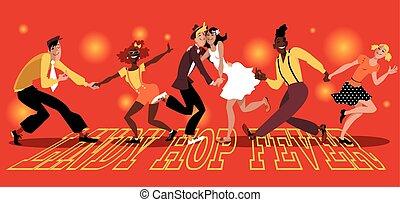 Lindy Hop Fever