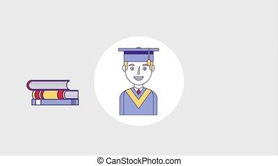 people education graduation online - graduate man education...