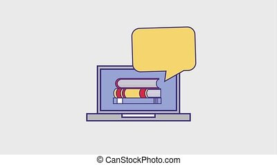 people education graduation online - laptop books education...