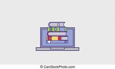 people education graduation online - laptop education...