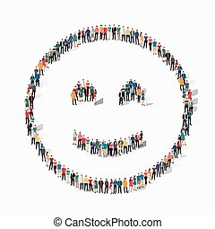 people emoticon smiley icon