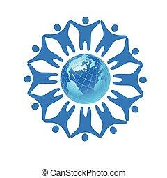 people global world template