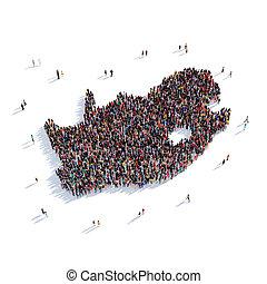 people group shape map KwaNdebele