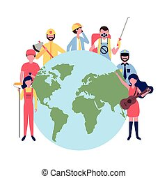 people group world international labor day
