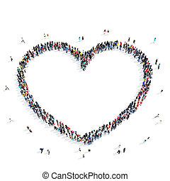 people heart icon