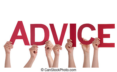 People Holding Advice