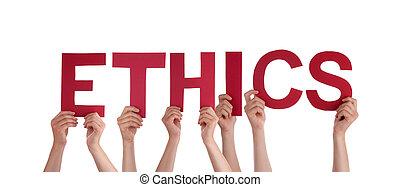 People Holding Ethics