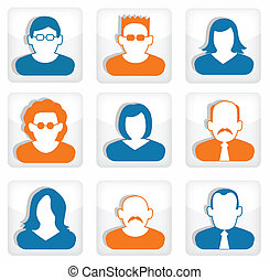 People icons (social media)