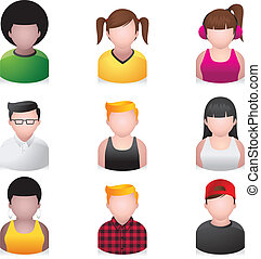 People Icons - Youngster