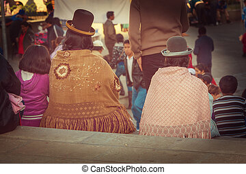 People in Bolivia