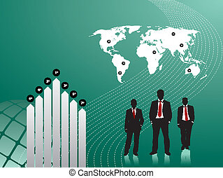 people in business graph finance