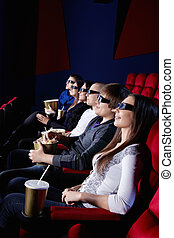 People in the cinema