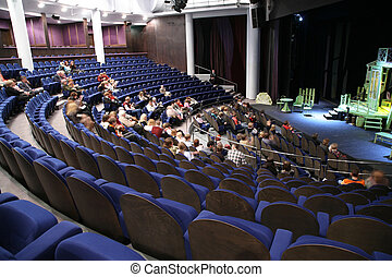 people in the theatre
