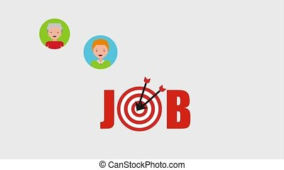 people job related - job goal recruitment people resources...