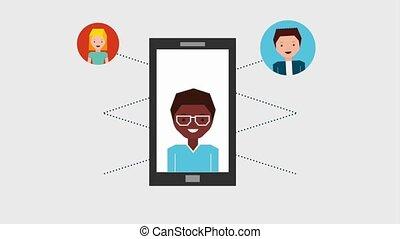 people job related - people job recruitment smartphone...