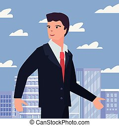 people labour day - businessman occupation labour day vector...