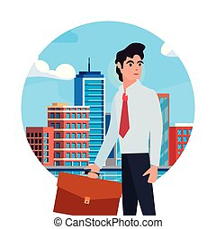 people labour day - businessman profession labour day vector...