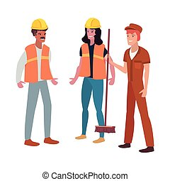people labour day - people workers labour day vector...