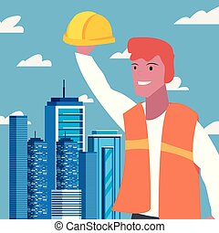 people labour day - worker employee profession labour day...