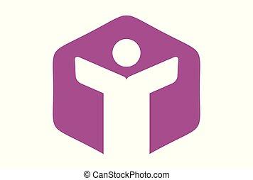 people letter Y logo