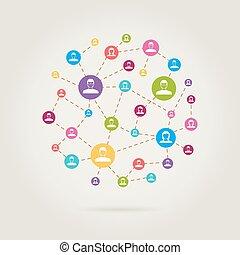 people links network