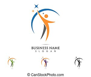 people logo template