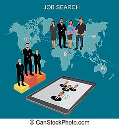 people looking for job