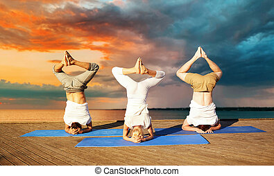 headstand stock photos and images 1010 headstand