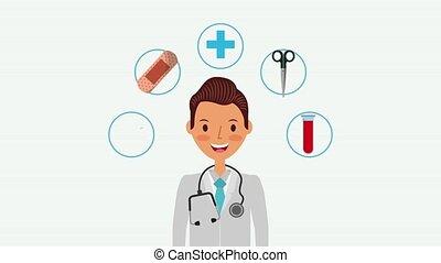 people medical service - portrait doctor staff medical...