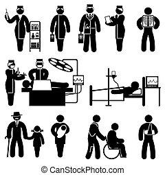 people medicine icons