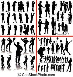 people mix