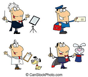 People Of Different Professions-Vector Collection 6