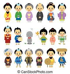 People of Edo period Japan 01 - People of Edo period Japan,...
