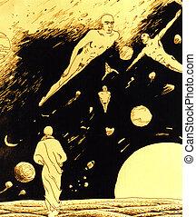 People of future - Illustration-artwork one imagination - I...