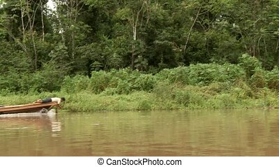 People On Amazon River