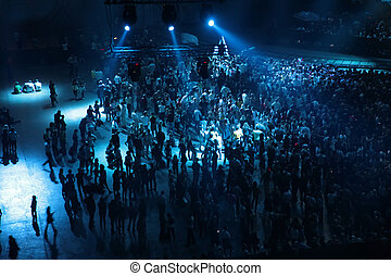 people on concert
